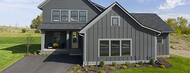 maison grise