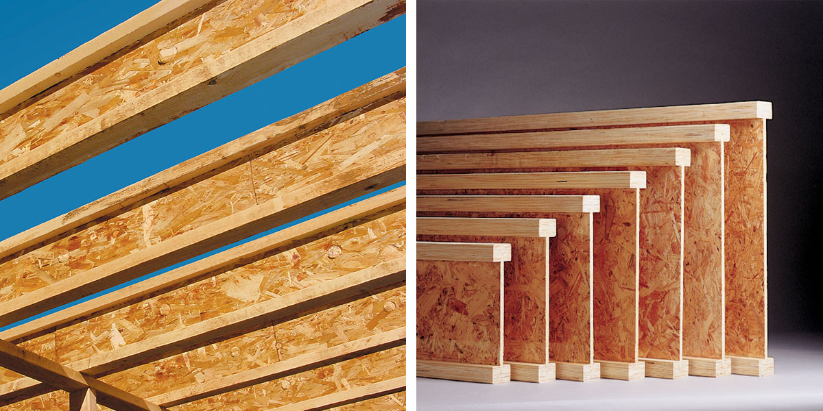 Lp solidstart i joists cieling floor joists lp for I joist vs floor truss