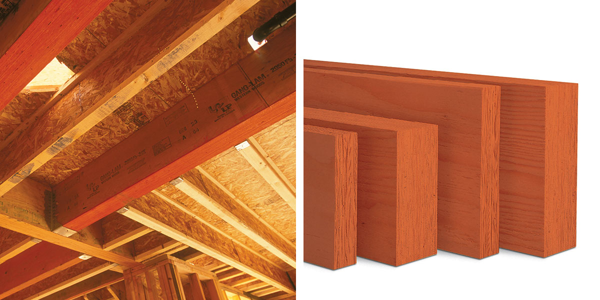 Lp Solidstart Lvl Beam Framing Lp Building Products