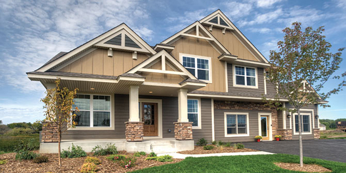 Residential application of smartside case study lp for Lp smartside shake colors
