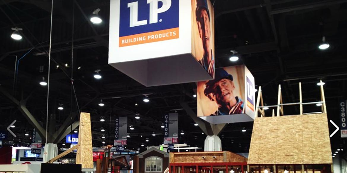 LP Building Products Exhibiting at 2015 International Builders' Show