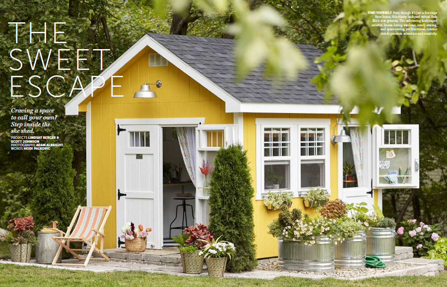 Enter The Better Homes Gardens Shed Sweepstakes To Win A
