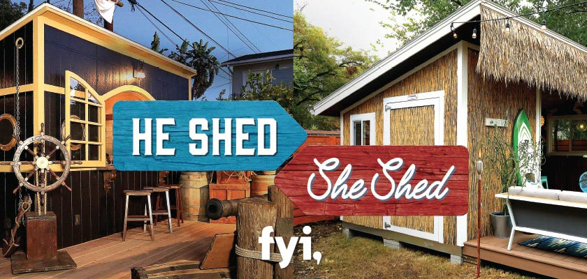 See What You Can Build with LP® on FYI's He Shed She Shed