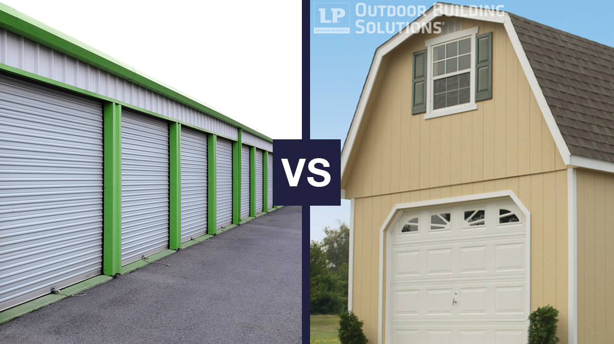Storage Shed vs. Storage Unit: Which is Better for Your Storage Needs?