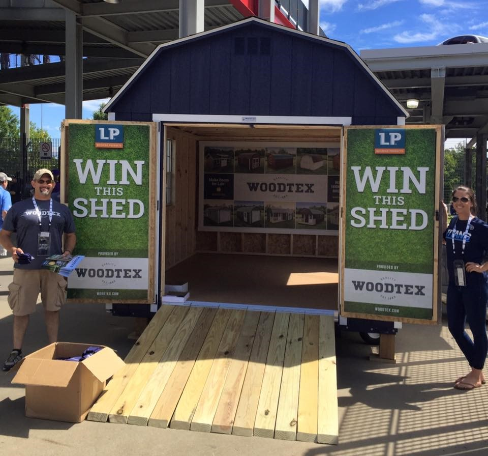 Meet the Winner of the Woodtex Shed Giveaway!
