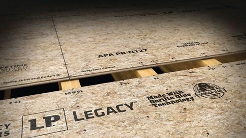 New LP Legacy Sub-flooring | LP