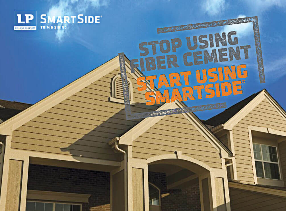 The lp smartside limited warranty beats hardie s by 20 for Lp smartside shakes coverage