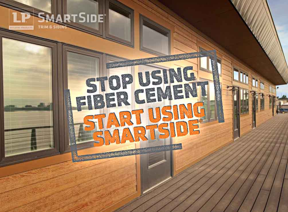 Did You Know? Engineered Wood Siding Installs Faster