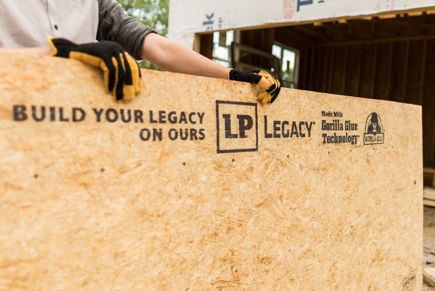 Lp Legacy 174 Sub Flooring For Strength And Stiffness In