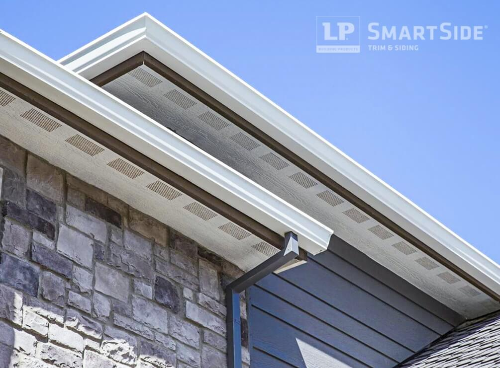 finishing touches complement siding with matching lp smartside