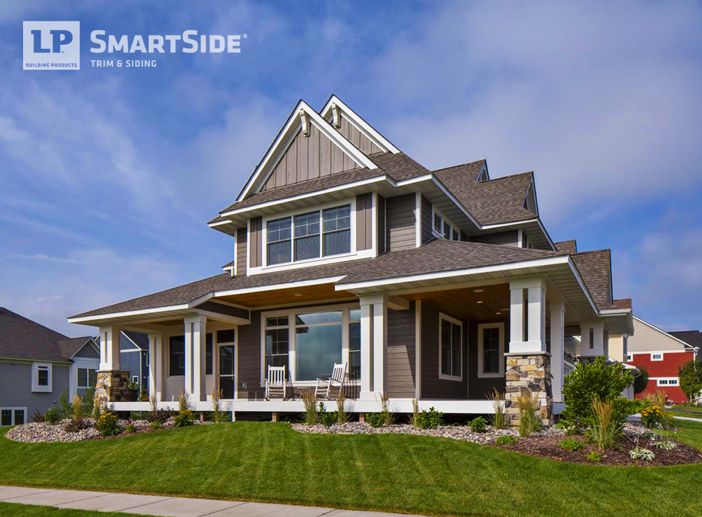 Engineered wood siding durable trim siding lp smartside for Lp smartside prefinished siding reviews