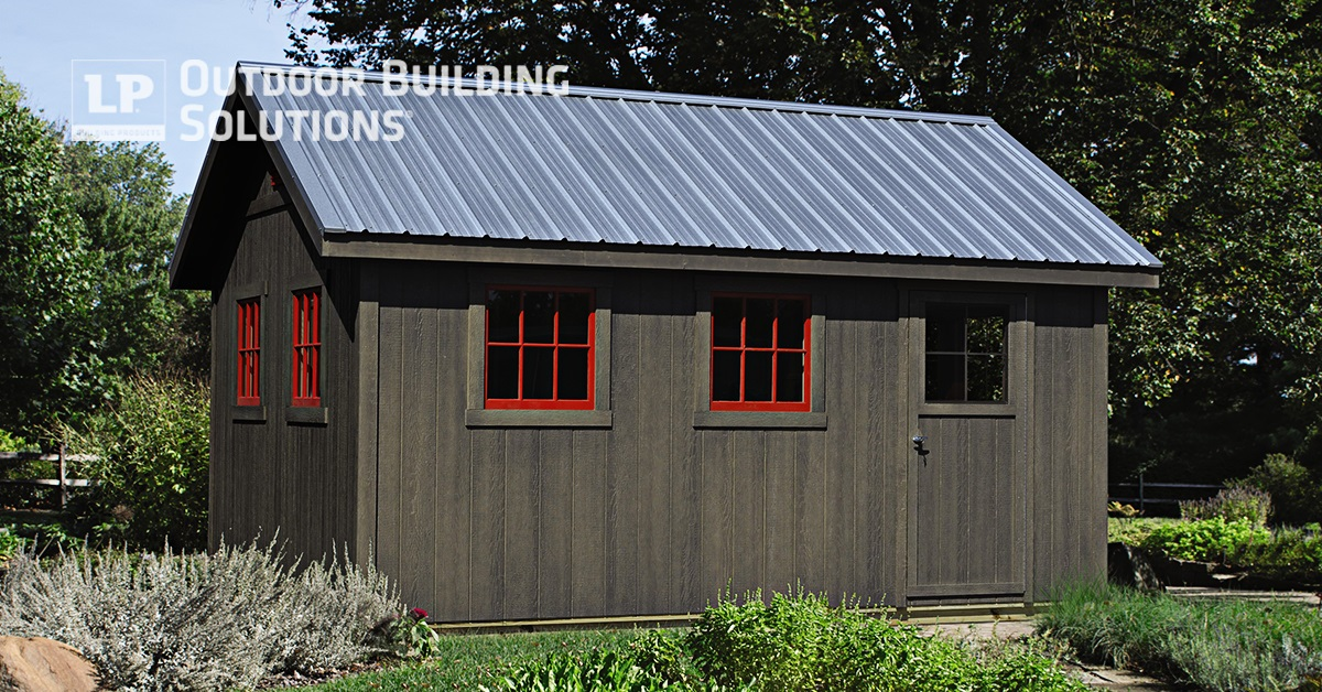 Download Free Diy Shed Plans Lp Outdoor Building Solutions