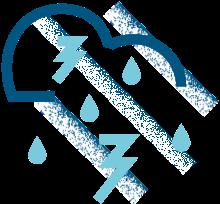Pluie et humidité extrêmes