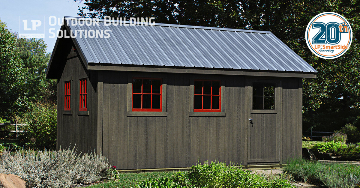 Lp 174 Smartside 174 Siding Celebrates 20 Years Of Outstanding Performance Lp Shed