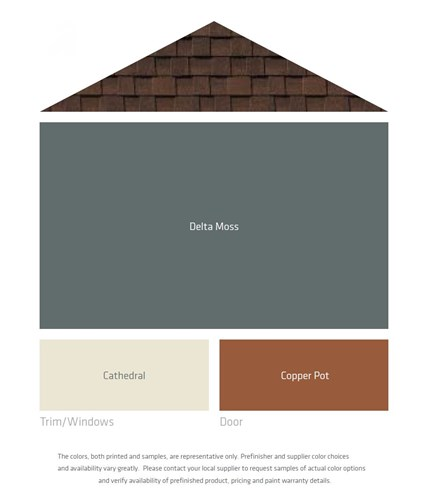 What Color Matches With Brown: Fresh Color Palettes For A Brown Roof