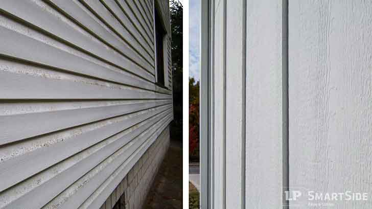 Vinyl Vs Engineered Wood Siding The Big Differences Lp Smartside