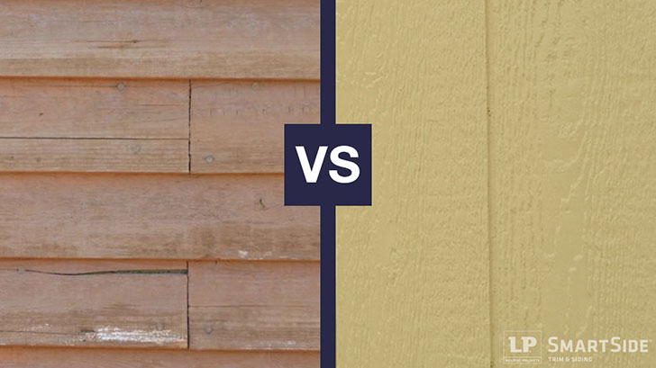 Traditional Wood Siding Vs Engineered Wood Siding The Big Differences Lp Smartside