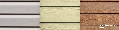 wood siding material