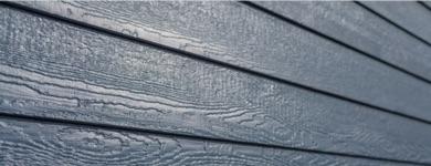 blue siding