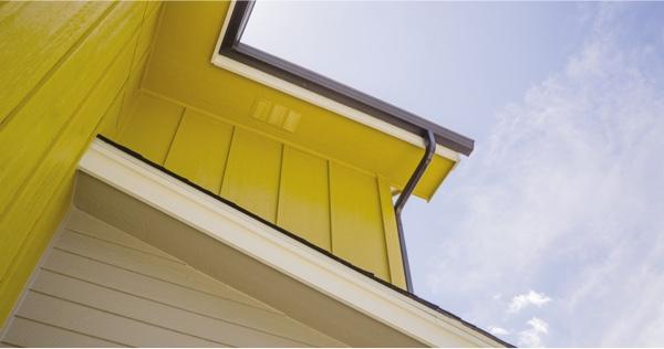 yellow siding