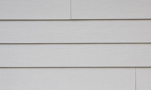 white vinyl siding