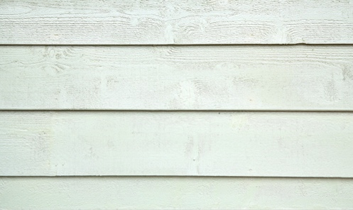 white fiber cement siding