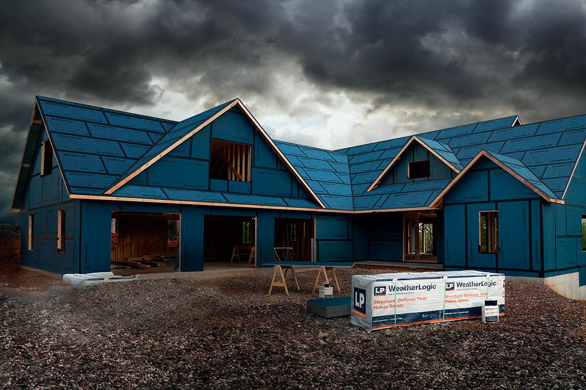 Revêtement pour toiture et mur WeatherLogic Struc I