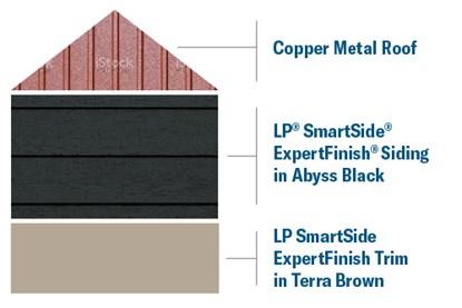LP SmartSmide and Cooper Roof
