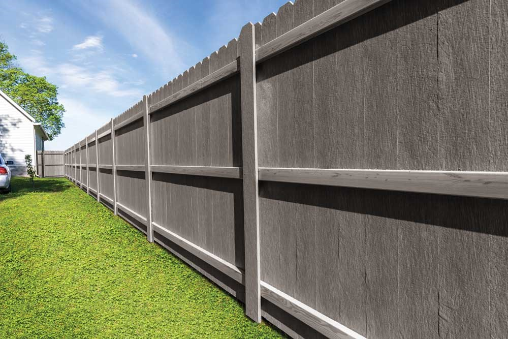LP Elements Performance Fencing offers a fence that withstands weather without twisting or warping